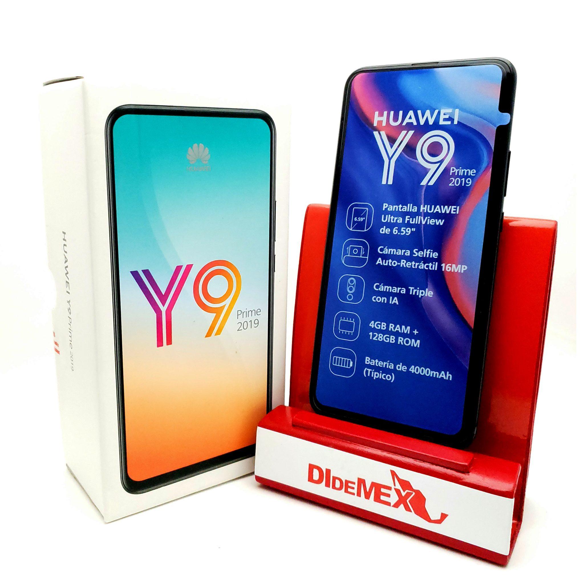 Huawei Y9 2019 Prime 128gb Negro Nuevo En Caja