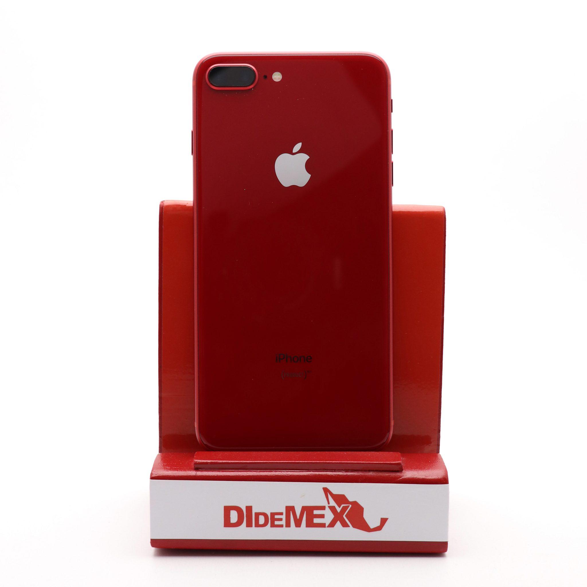 Apple iPhone 8 PLUS 256gb Rojo