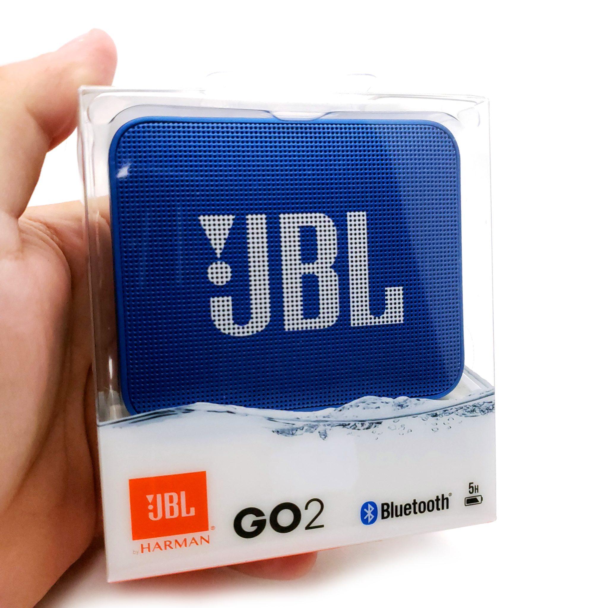 Bocina JBL GO 2 Azul A Prueba De Agua