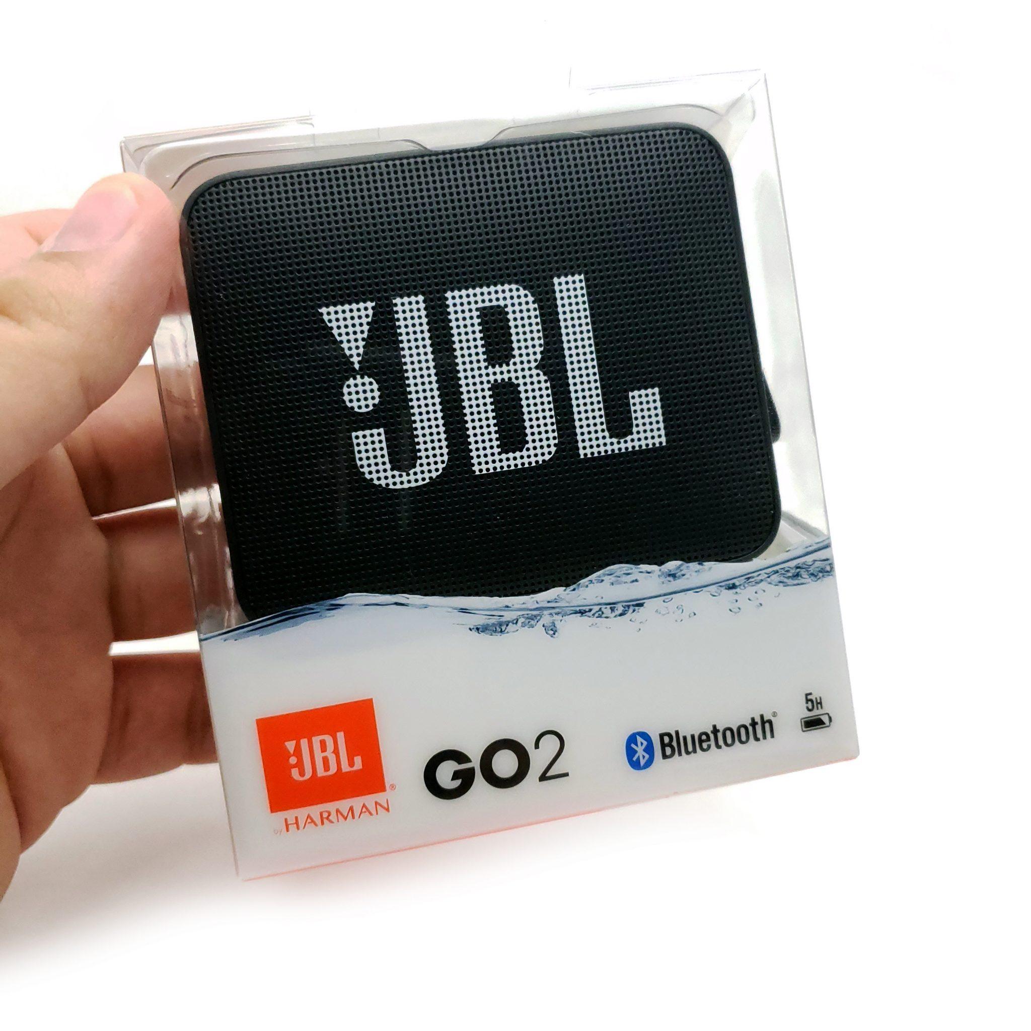 Bocina JBL GO 2 Negro A Prueba De Agua