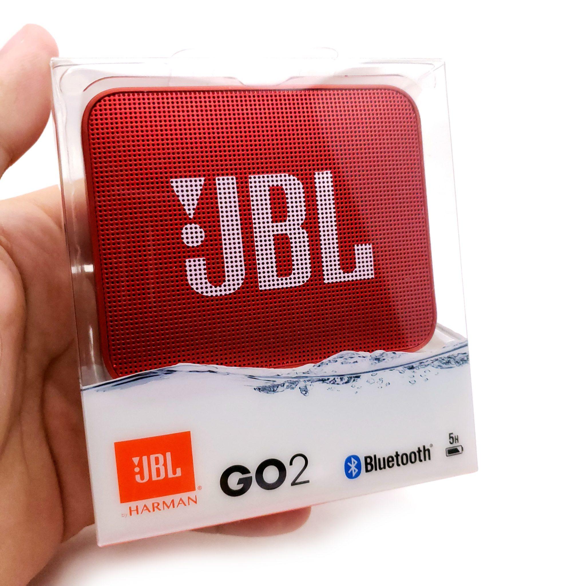 Bocina JBL GO 2 Rojo A Prueba De Agua
