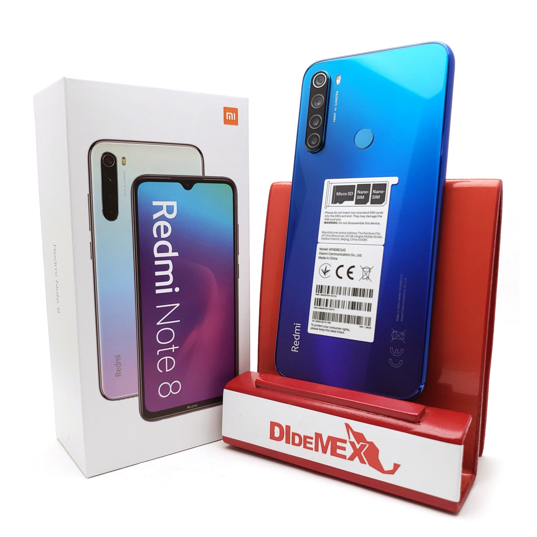 Xiaomi Redmi Note 8 128gb Azul Neptuno
