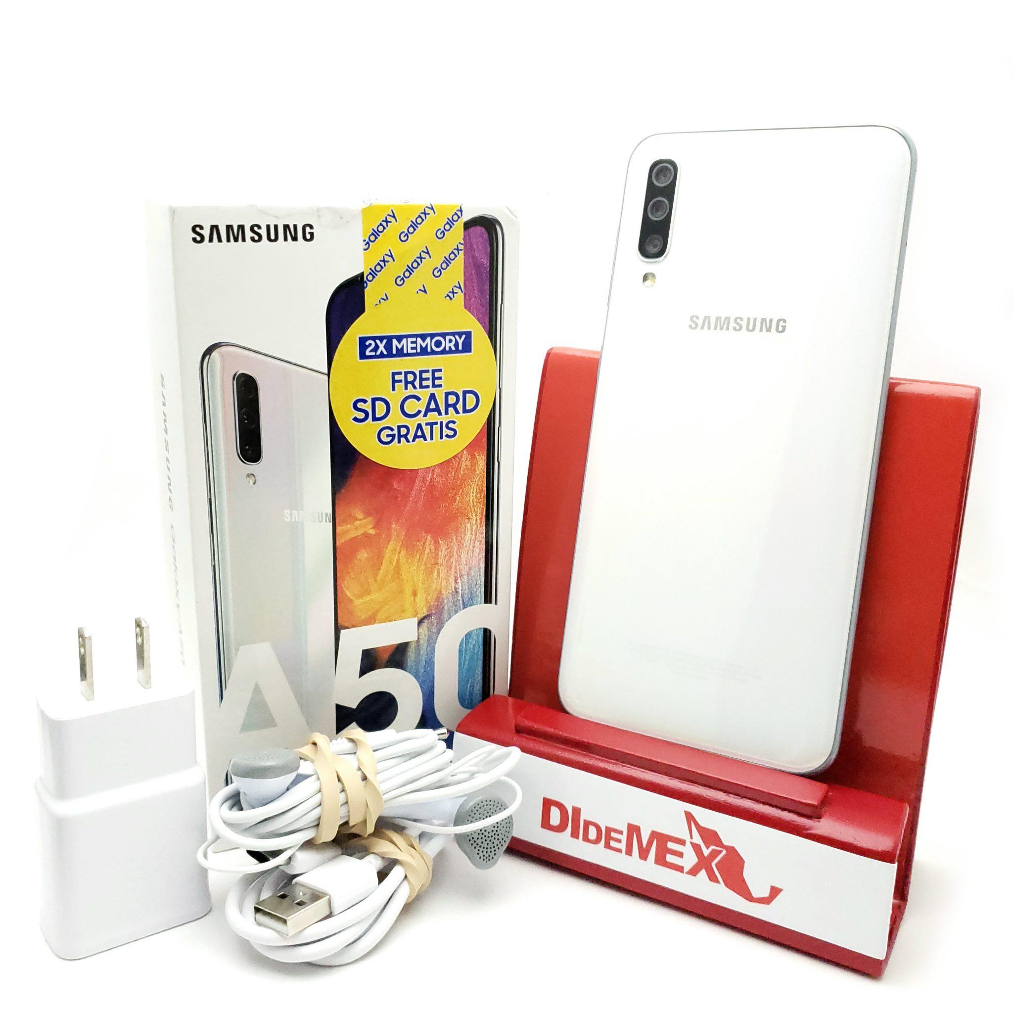 Samsung Galaxy A50 64gb Blanco Nuevo En Caja