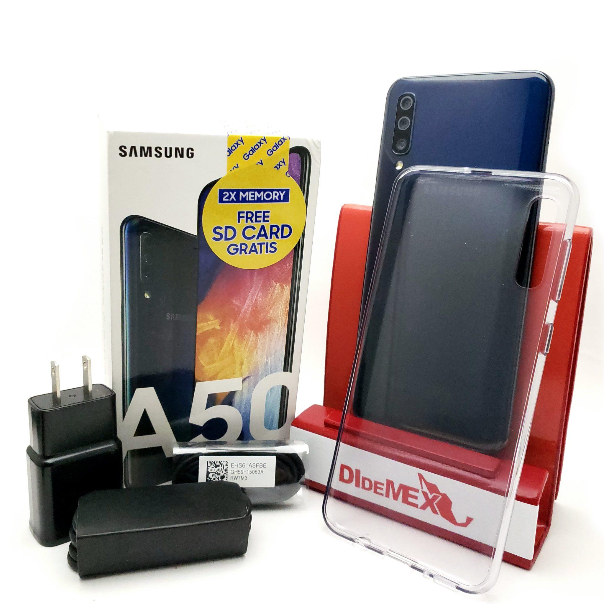 Samsung Galaxy A50 64gb Negro Nuevo En Caja