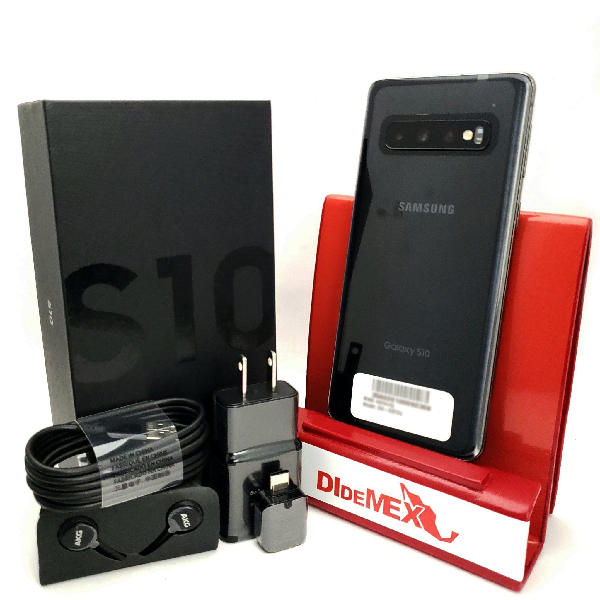 Samsung Galaxy S10 128gb Negro Nuevo En Caja