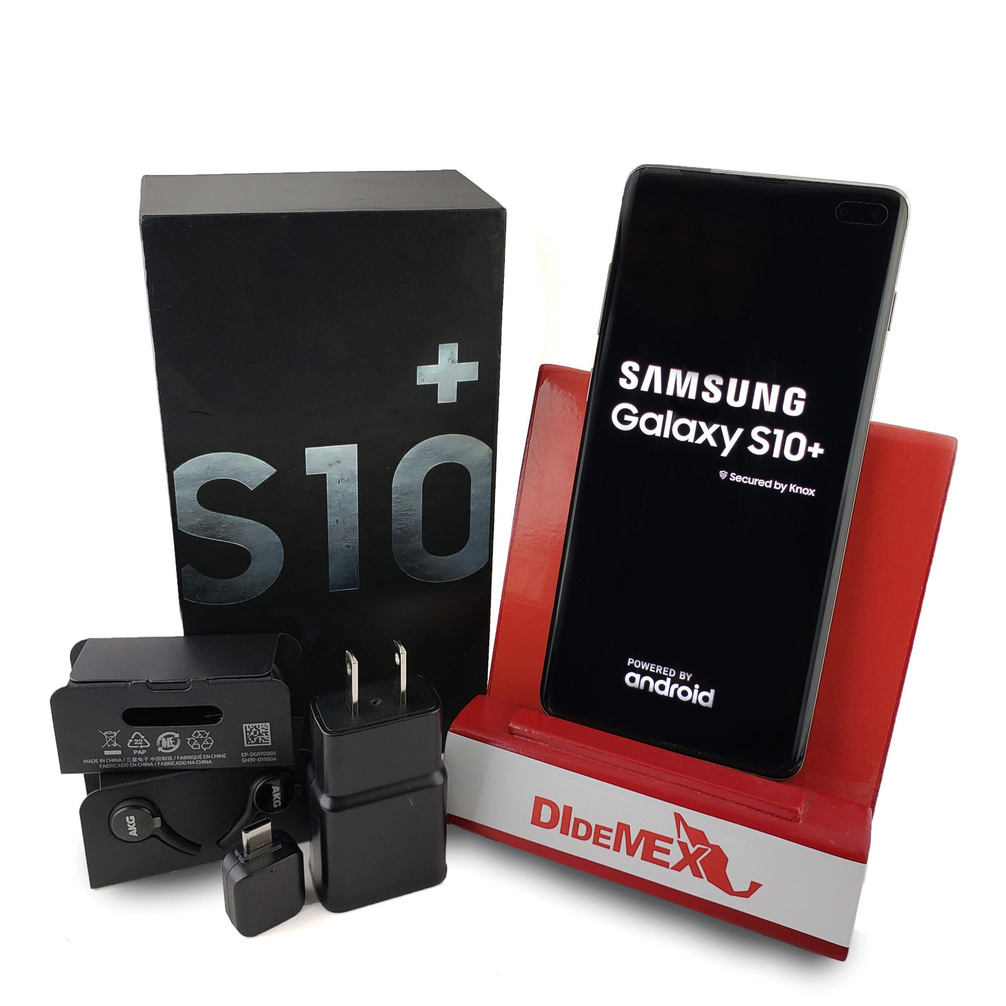 Samsung Galaxy S10+ PLUS 128gb / 8gb Negro Nuevo En Caja