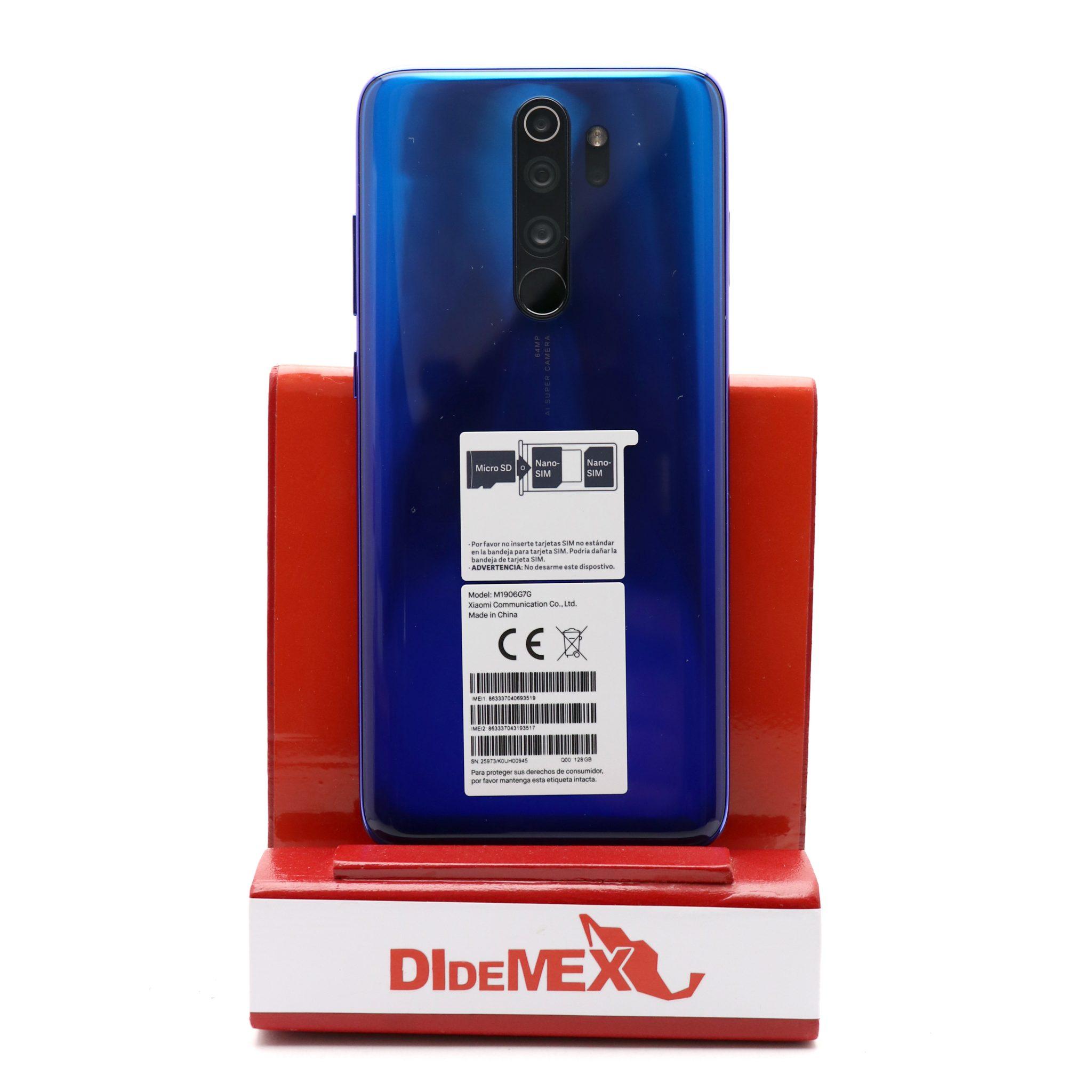 Xiaomi Redmi Note 8 128gb PRO Azul Oceano