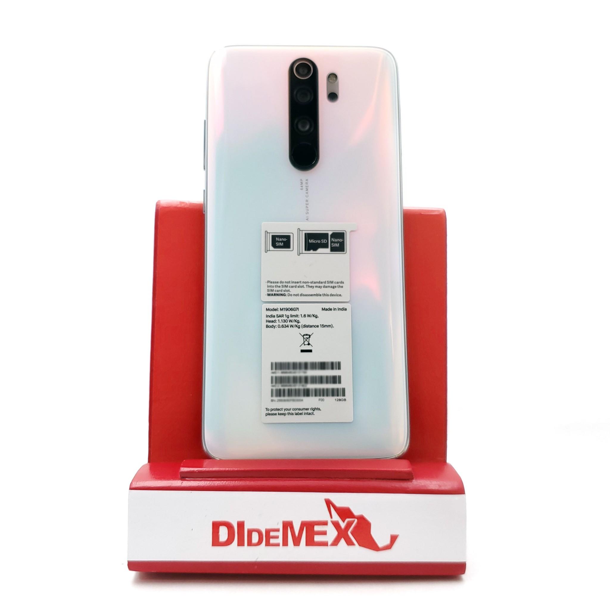 Xiaomi Redmi Note 8 128gb PRO Blanco Perla